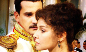 Tatyana Drubich as Anna and Yaroslav Boyko as Vronsky