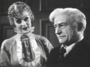 Bette Davis and Claude Rains