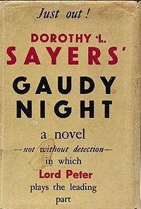 A Joyful Re-read: Gaudy Night by Dorothy L. Sayers (2/3)