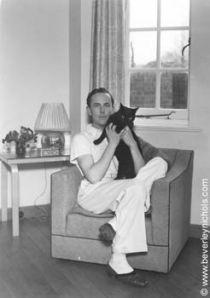 Beverley and feline friend