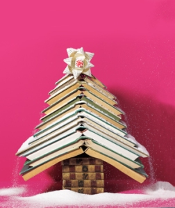 via http://www.themarysue.com/12-christmas-trees-made-out-of-books/