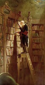 bookworm by Carl_Spitzweg_021