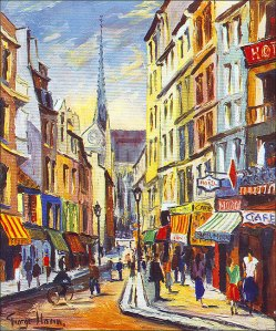 rue maubert part - george hann