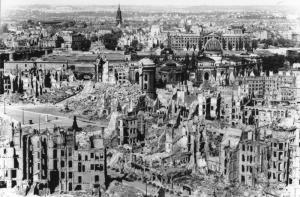 Dresden, after bombing