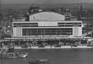 The RFH in 1951 during the Festival