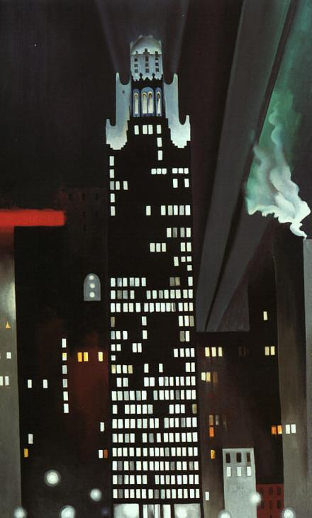 Radiator Building - Georgia O'Keeffe 1927