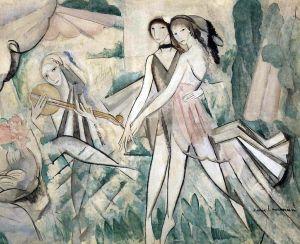 Marie Laurencin, 1913, Le Bal élégant, La Danse à la campagne