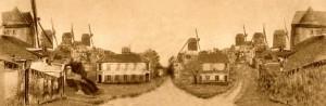 Montmartre in 1852