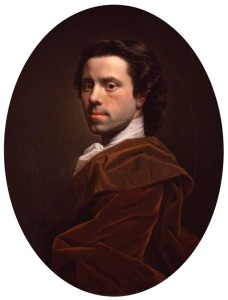 Allan Ramsay Self Portrait : NPG