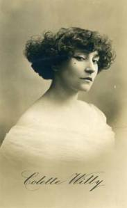 Colette as she was known under her married name at the time of publishing the Claudine books