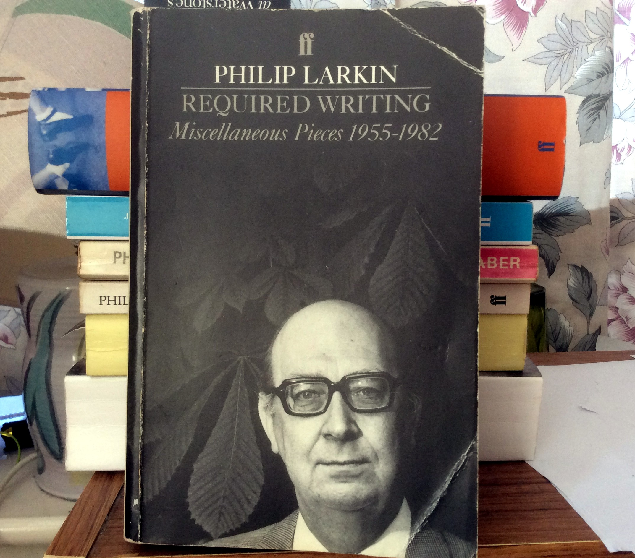 critical essays on philip larkin