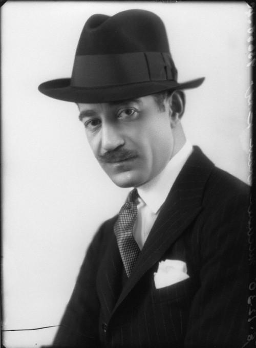 by Bassano, half-plate glass negative, 8 December 1930