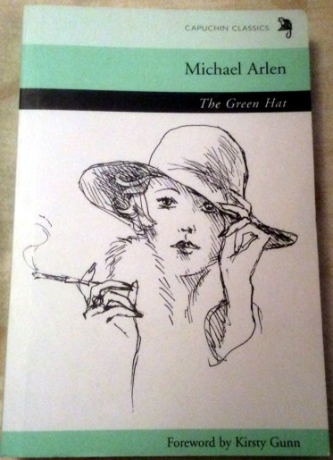 Michael Arlen's The Green Hat - one possibility
