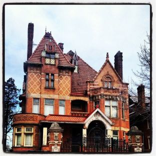 German Gothic house from Pinterest