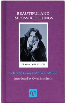 Oscar-Wilde-Essays