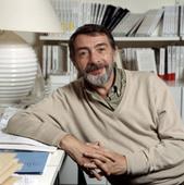 L'ecrivain Jean-Paul Clebert le 8 novembre 1989.