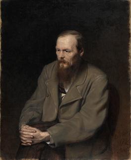 Fedor Dostoevsky by Vasily Perov, 1872 © State Tretyakov Gallery