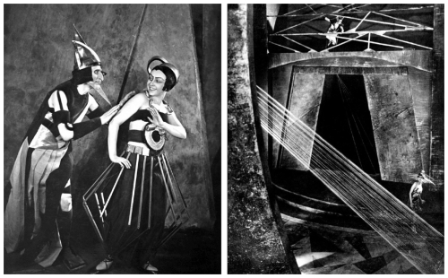 "Some images from the ""Aelita"" film"