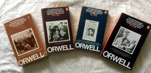orwell-essays-covers