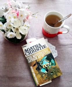 Agatha Christie Mysterious Affair at Styles 1920club tea flowers golden age crime