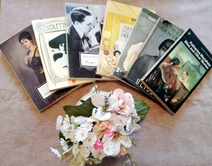 books and flowers colette hungry hears katherine mansfield bliss #1920club